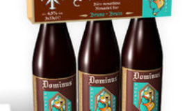 New in Belgian retail: Dominus, an abbey beer in the purest monastic tradition.
