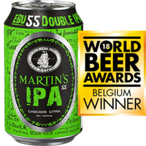 Martin's IPA 55 Can 33cl + Medal