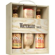 Waterloo Giftpack 75cl