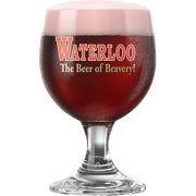 Waterloo Strong Kriek Glass Aldan