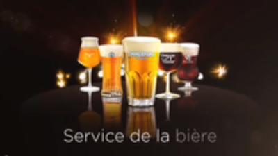 How to serve a bier ?