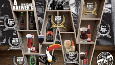 World Beer Challenge : 8 médailles !