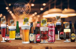 6 awards at the 2019 edition of the World Beer Awards!